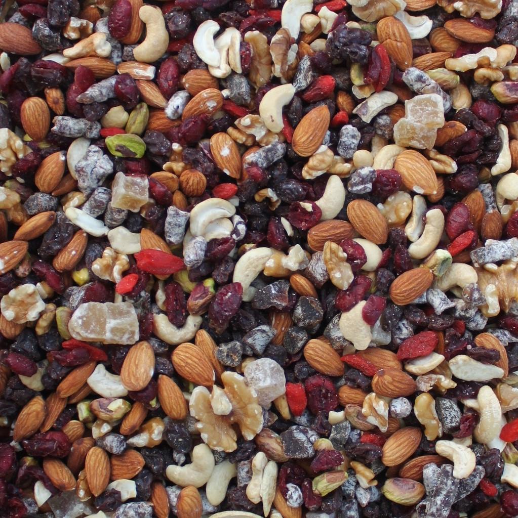 ORGANIC FRUIT & NUT TRAIL MIX