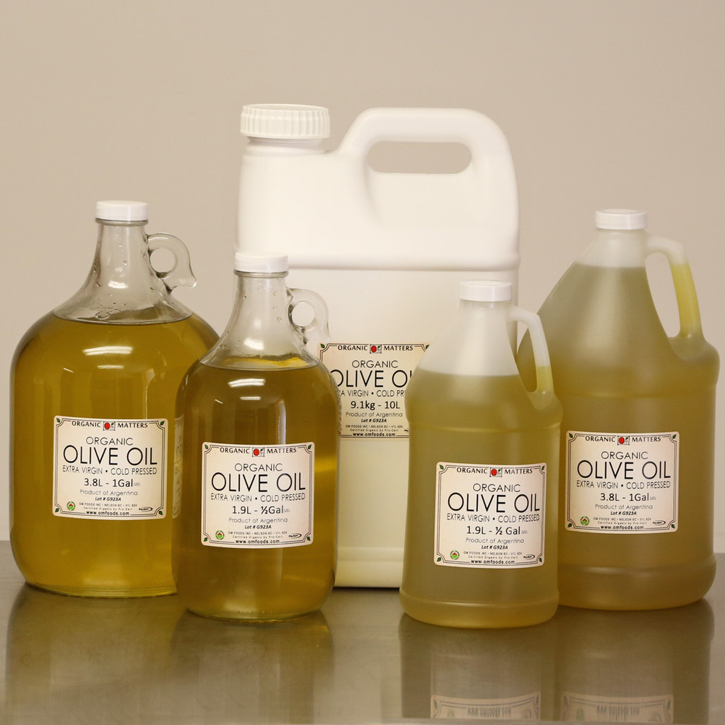ORGANIC OLIVE OIL, extra virgin, unrefined, raw