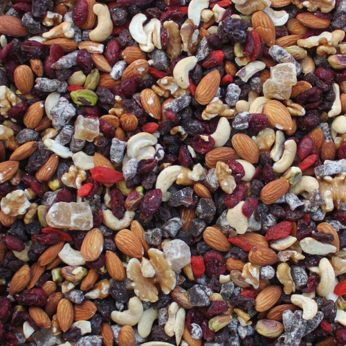 ORGANIC FRUIT & NUT TRAIL MIX