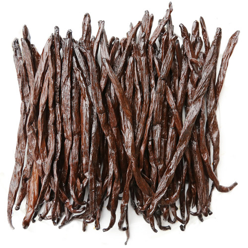 ORGANIC VANILLA BEANS, whole - 14g pack