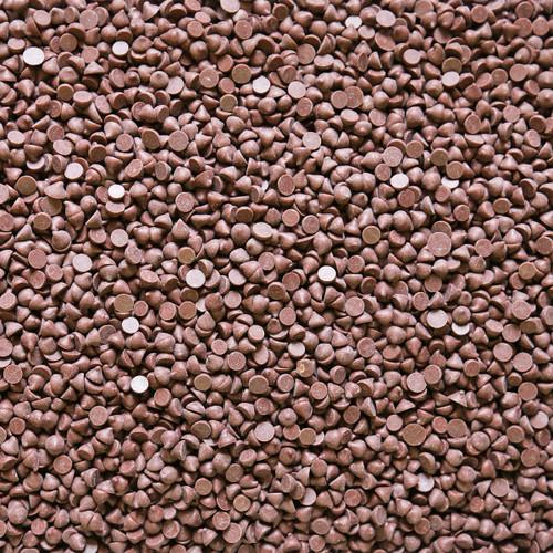 ORGANIC CHOCOLATE DROPS, 4000ct, 45%, semi sweet