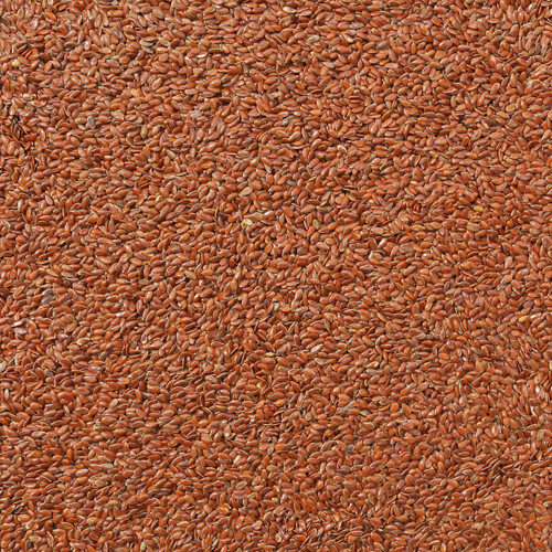 ORGANIC FLAX SEEDS, brown