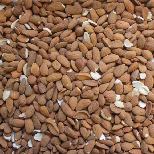 ALMONDS, Spanish, confectionary grade - raw/unpasturized