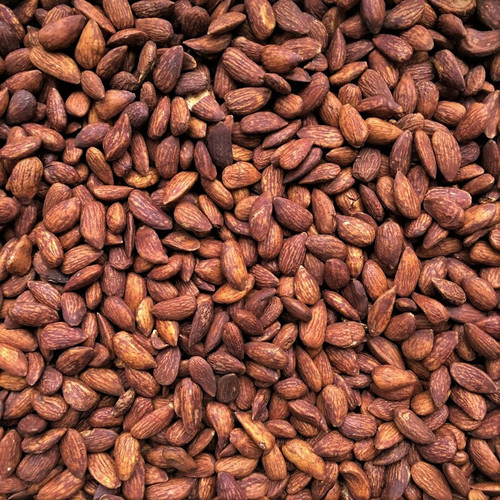 ORGANIC ALMONDS, tamari roasted