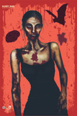 "Bloody Mary Zombie Splatter Target 12"" x 18"""