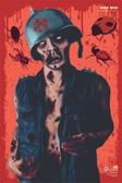"""Buggy Biker Zombie Splatter Target. 12"""" x 18"""" target"""