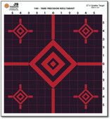 "Sight in your rifle with this 13"" x 14"" 100 yard ST-4 rifle splatter target."