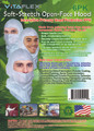 GSP Soft-stretch Open-face Hood, Case of 45x 6-PK