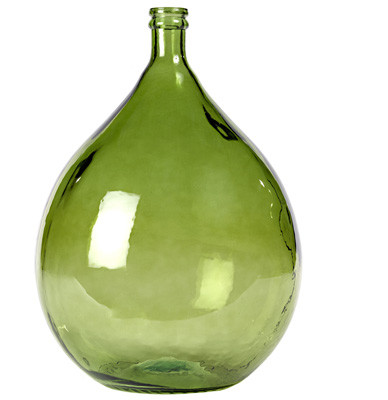 Green Large Olive Bottle