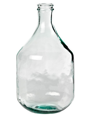 Clear Medium Olive Bottle