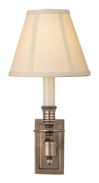 Antique Nickel | Linen Shade