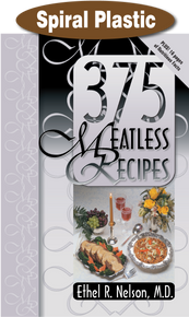 375 Meatless Recipes / Nelson, Ethel R, MD / Spiral Plastic