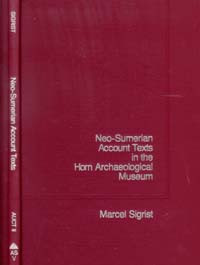 Assyriological--V/Neo-Sumerian / Sigrist, Marcel / Closeout