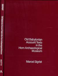 Assyriological--VII/Old Babylon / Sigrist, Marcel / Closeout
