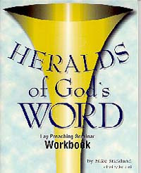 Heralds of God's Word--Workbook / Stickland, Mike