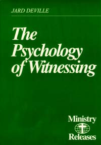 Ministry Releases #10--The Psychology of Witnessing / DeVille, Jard