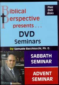 Sabbath Enrichment Seminar (DVD) / Bacchiocchi, Samuele / Closeout