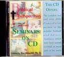 Seminars on CD / Bacchiocchi, Samuele / Closeout