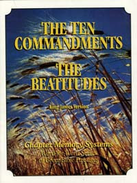 Ten Commandments/Beatitudes (CD) / Meyer, David