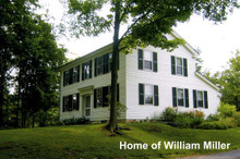 William Miller Home Postcard (Pack of 100) / Postcards