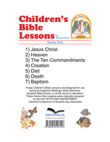 Children's Bible Lessons #1 / White, Bessie / Loose Leaf