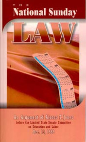 National Sunday Law, The / Jones, Alonzo Trevier