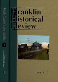 Franklin Historical Review Collection  2 / Franklin County Historical & Museum Society / Hardback