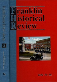 Franklin Historical Review Collection  3 (HB) / Franklin County Historical & Museum Society