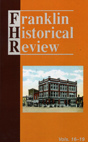 Franklin Historical Review Collection  4 (PB) / Franklin County Historical & Museum Society