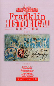 Franklin Historical Review Vol 40 / Franklin County Historical & Museum Society