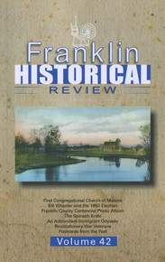 Franklin Historical Review Vol 42 / Franklin County Historical & Museum Society
