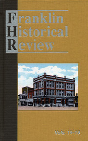 Franklin Historical Review Collection  4 (HB) / Franklin County Historical & Museum Society