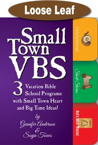 Small Town VBS / Anderson & Toews / Loose Leaf (3-Hole)