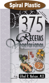 375 Meatless Recipes (Spanish) / Nelson, Ethel R, MD / Spiral Plastic