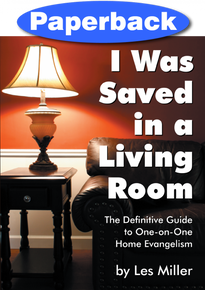 I Was Saved in a Living Room / Miller, Les / Paperback