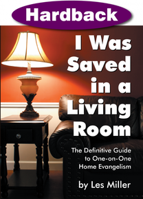 I Was Saved in a Living Room / Miller, Les / Hardback