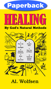 Cover of Healing by God's Natural Methods