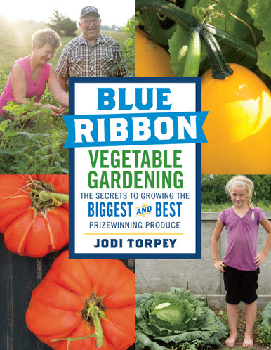 Cover of Blue Ribbon Vegetable Gardening