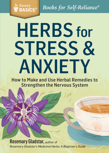 Cover of Herbs for Stress & Anxiety
