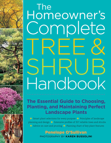 Cover of Homeowner's Complete Tree & Shrub Handbook