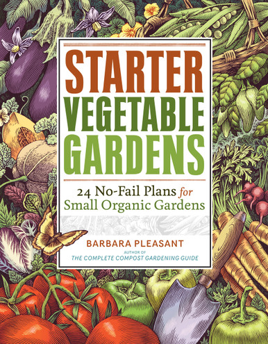 Cover of Starter Vegetable Gardens