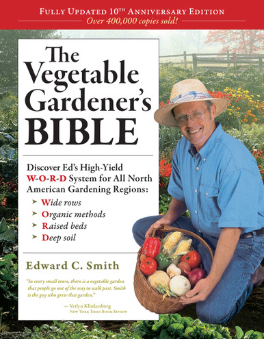 Cover of Vegetable Gardener's Bible, 2nd Edition