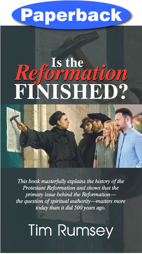 Cover of Is the Reformation Finished?