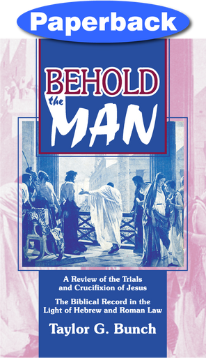 Cover of Behold the Man!