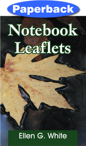 Cover of Notebook Leaflets