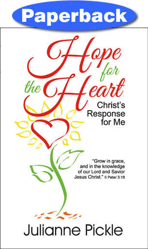 Cover of Hope for the Heart: Christ's Response for Me