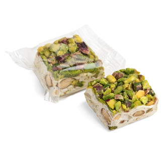Manna Treated with Honey Topped with Pistachio Roasted Nuts