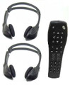 Chevy Suburban Wireless Headphones for rear seat DVD system