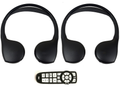Chrysler Town & Country (2006 2007 2008 2009 2010 2011 2012 2013) Fold-Flat Headphones and Remote Combo