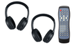Invision  Headphones and DVD Remote Control Combo